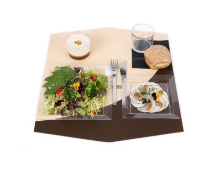 Plateau repas hiver vegan