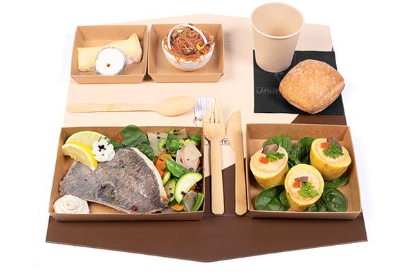 e- plateau repas d'Automne F Filet de Saint-Pierre