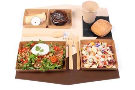 e-plateau repas d'Automne Végétarien